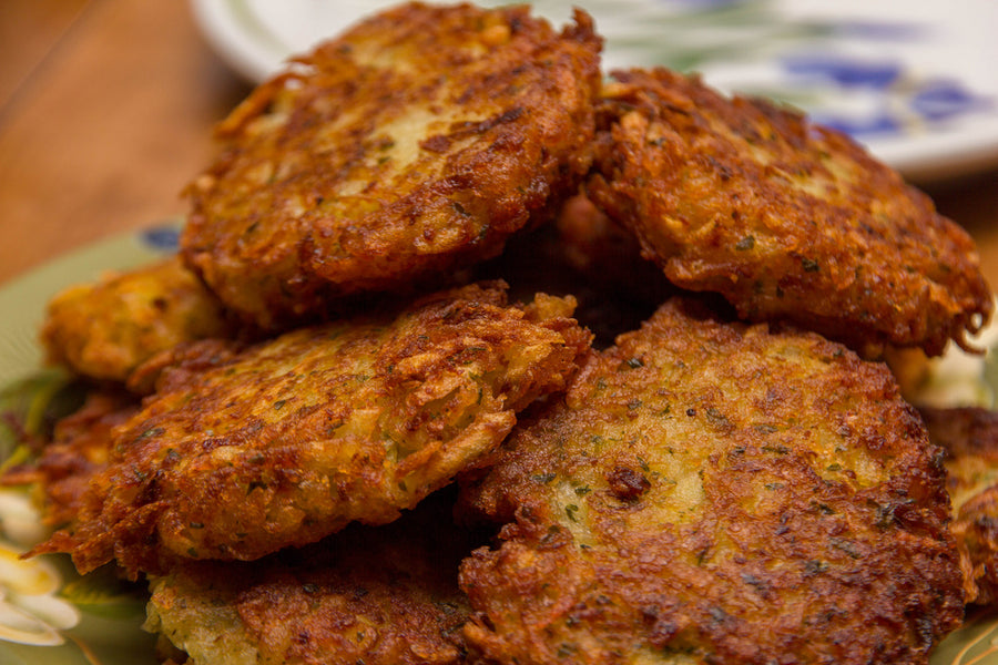 3 Healthy Latke Recipes