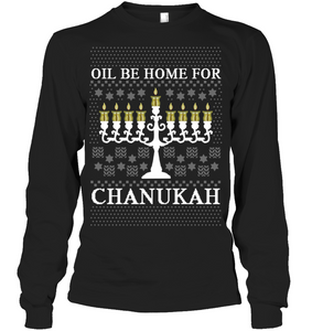 Oil Be Home For Chanukah