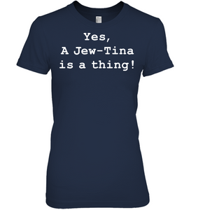 Jew-Tina Is A Thing