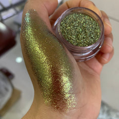 Glam green pearl pigment - Just Violeta