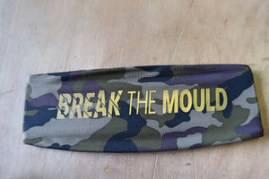 BREAKTHEMOULD LIMITED EDITION CAMO HEADBAND