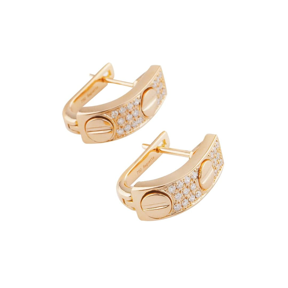 18K Gold Luxury Earring with Diamond