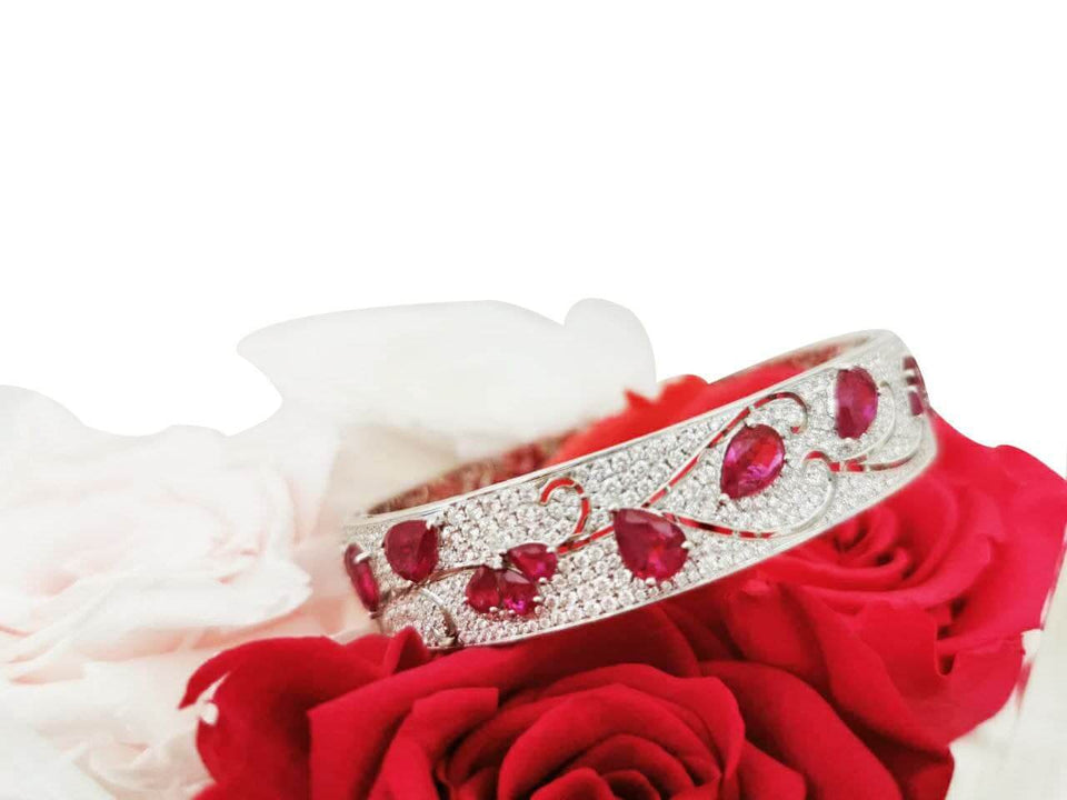 Rubies & Diamonds Bracelet