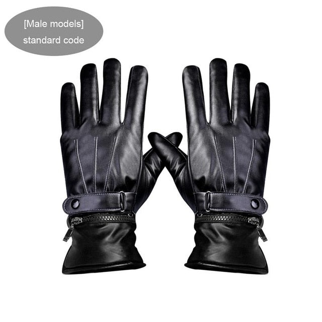 Outdoor Rechargeable Heating Gloves Winter Warm Heating Electric Heating Electric Riding Gloves