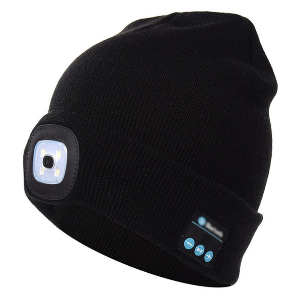 e247d811ccc woman Outdoor Winter Lighted Warm Hat Hiking Windproof Heating Warm ...