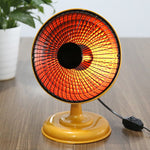 Mini Home Handy Heater Infrared 220V 220W Portable Electric Air Heater Warm Fan 9 Inch Desktop for Winter Household Bathroom