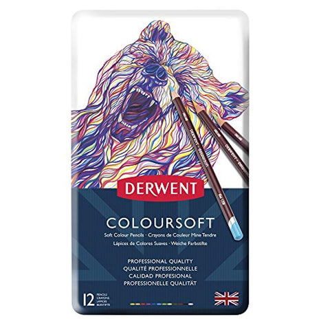 Image of Derwent Coloursoft potloden (diverse sets)-ArtSuppliesOnline-ArtSuppliesOnline