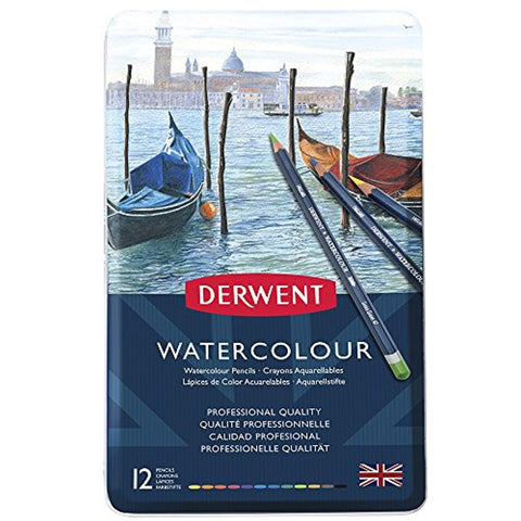 Derwent Watercolour (diverse sets)-ArtSuppliesOnline-ArtSuppliesOnline