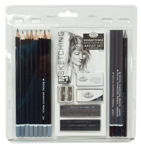 Royal & Langnickel - Essential Sketching Artis Set-ArtSuppliesOnline-Set-ArtSuppliesOnline