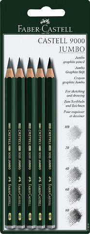Faber Castell - 9000 Jumbo (diverse sets)-ArtSuppliesOnline-Jumbo 2B-ArtSuppliesOnline