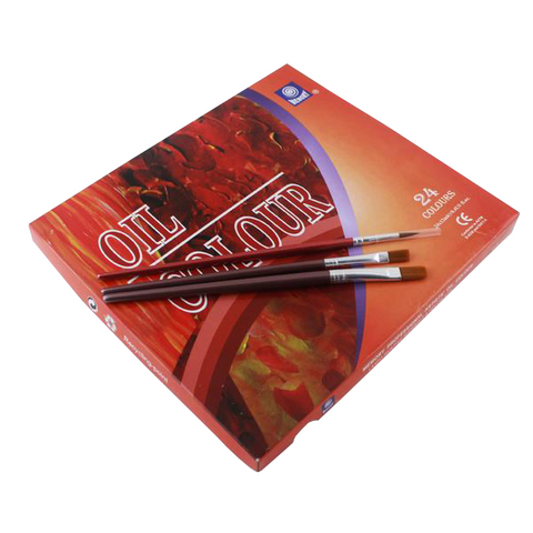 Image of Olieverf set (24 kleuren/12ml)-ArtSuppliesOnline-ArtSuppliesOnline