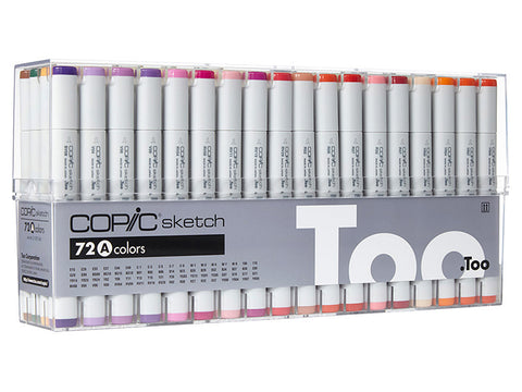 Copic Sketch 72 stuks (diverse sets)-ArtSuppliesOnline-ArtSuppliesOnline