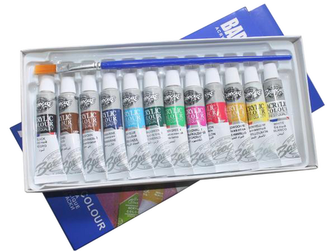 Image of Acrylverf Set (12x6ml)-ArtSuppliesOnline-ArtSuppliesOnline