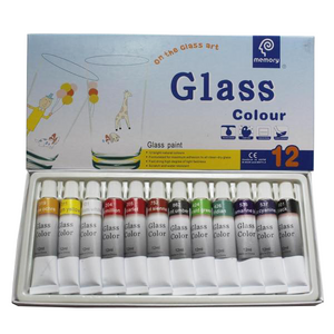 Glasverf Set (12 kleuren 12ml)-ArtSuppliesOnline-ArtSuppliesOnline