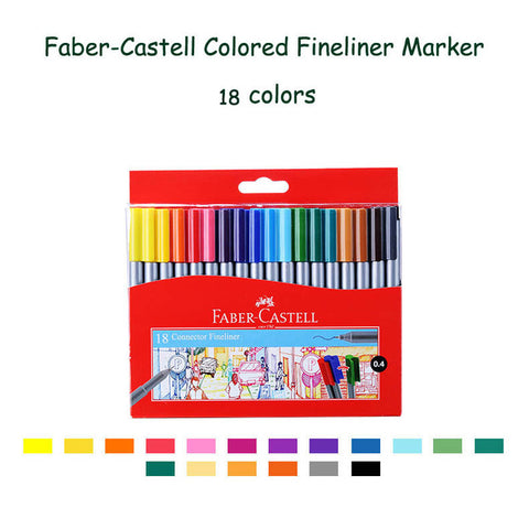 Image of Faber Castell - Fineliners (diverse sets)-ArtSuppliesOnline-24-ArtSuppliesOnline