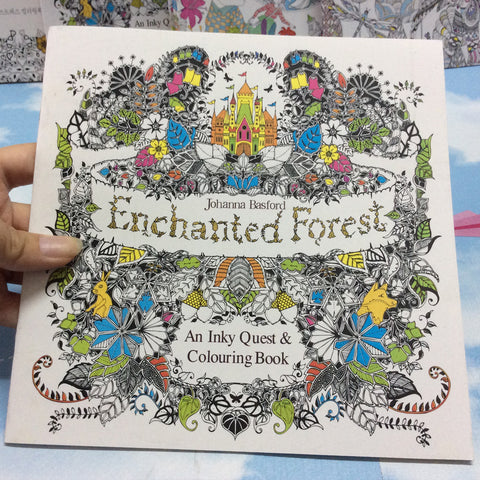 Enchanted Forest Kleurboek-ArtSuppliesOnline-ArtSuppliesOnline