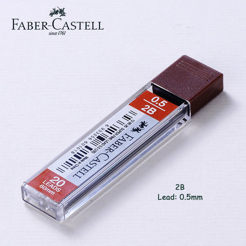 Faber Castell - Grip Matic 0.5mm / 0.7mm-ArtSuppliesOnline-1pc 2B 0.5mm-ArtSuppliesOnline