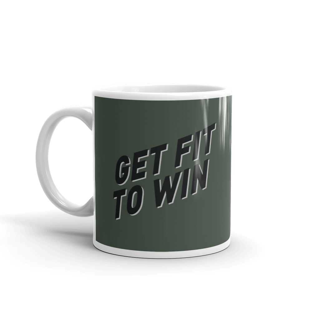GET FIT TO WIN COFFEE MUG