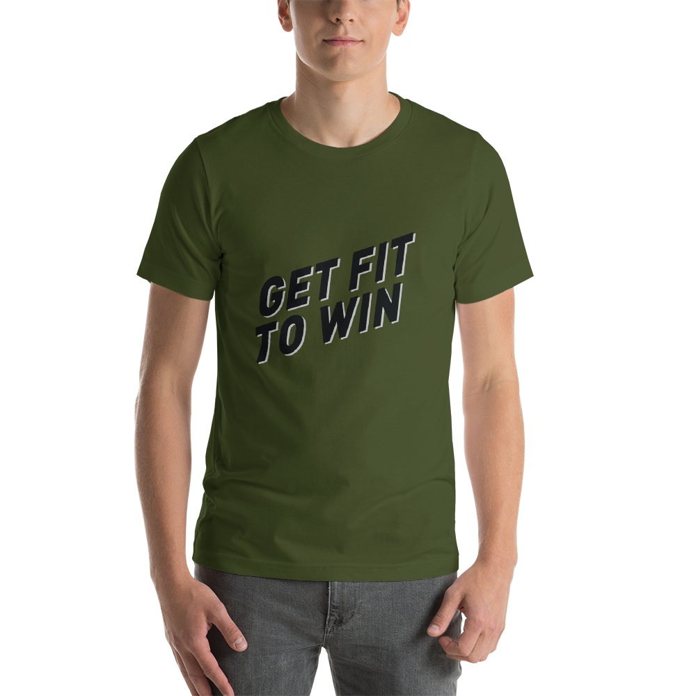 GET FIT TO WIN T-SHIRT