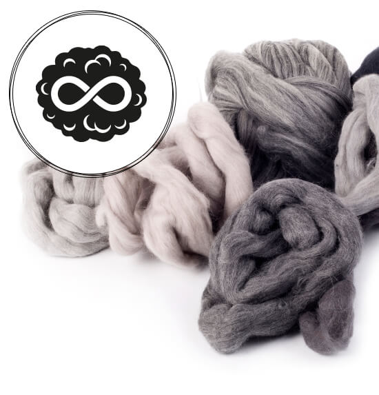 WOOLFINITY - THE MOST DURABLE WOOL MATERIAL IN THE WORLD.