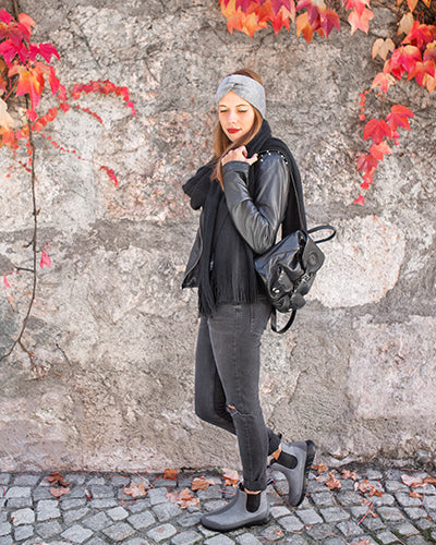 Outfit Giesswein Merino Wool Boots Grey