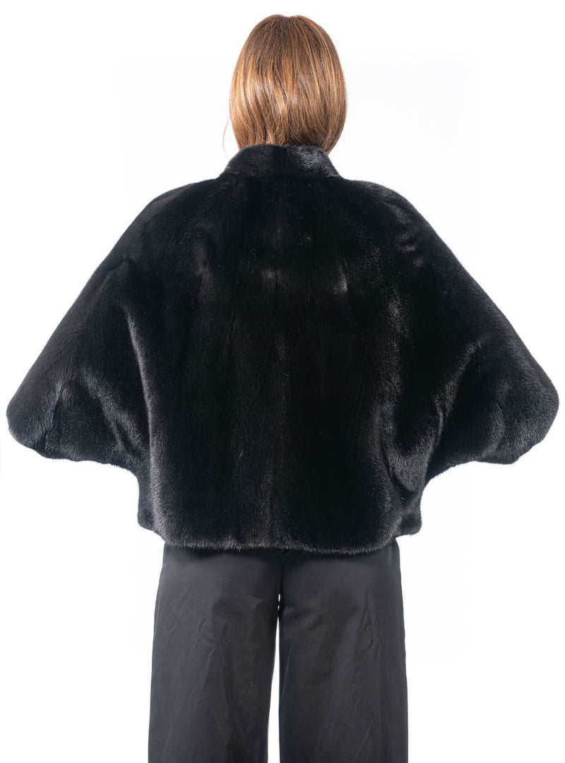 Women's Ranch SAGA Mink Fur Cape