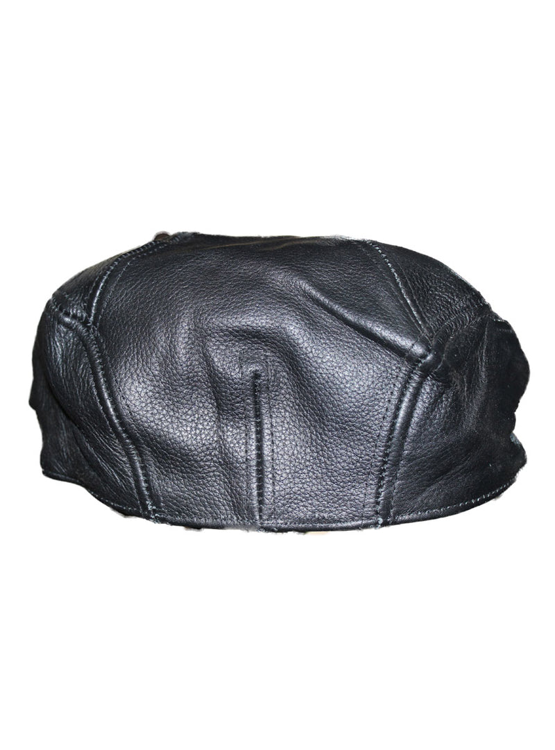 Men's Leather Tam