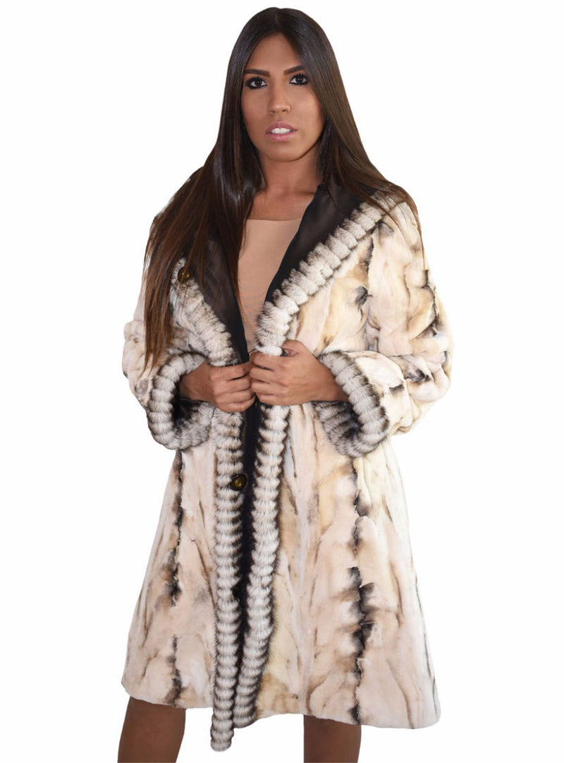 Women's Mink Fur Jacket