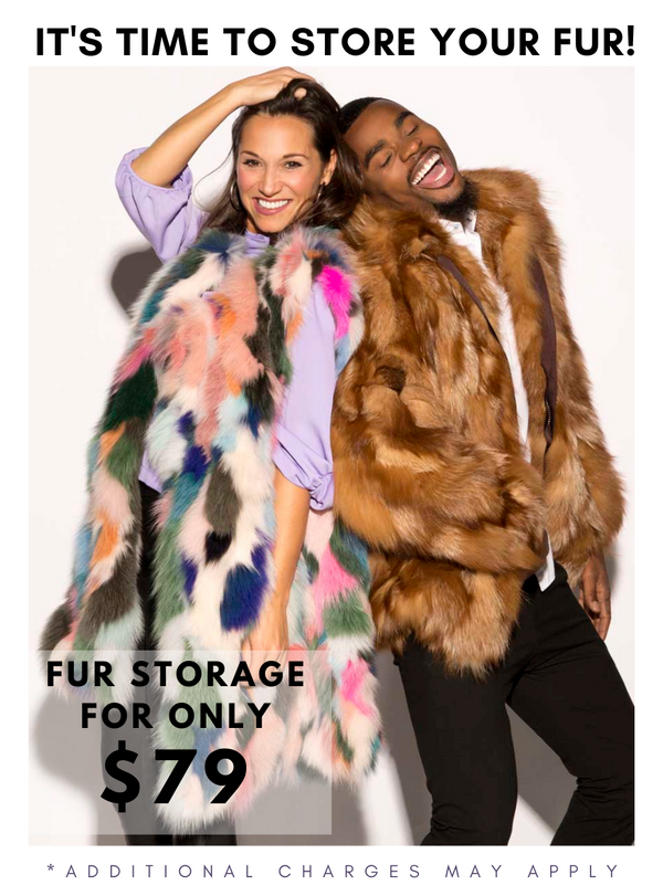 Fur Storage & Cleaning *We strongly encourage every fur, leather & cashmere be cleaned & conditioned*