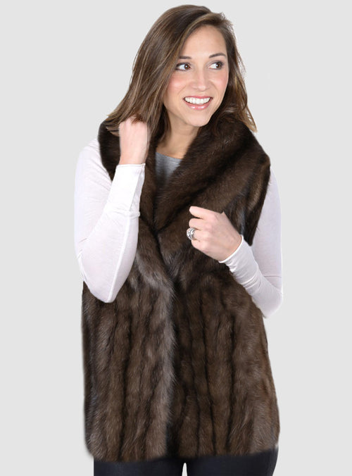 Russian Sable Fur Vest