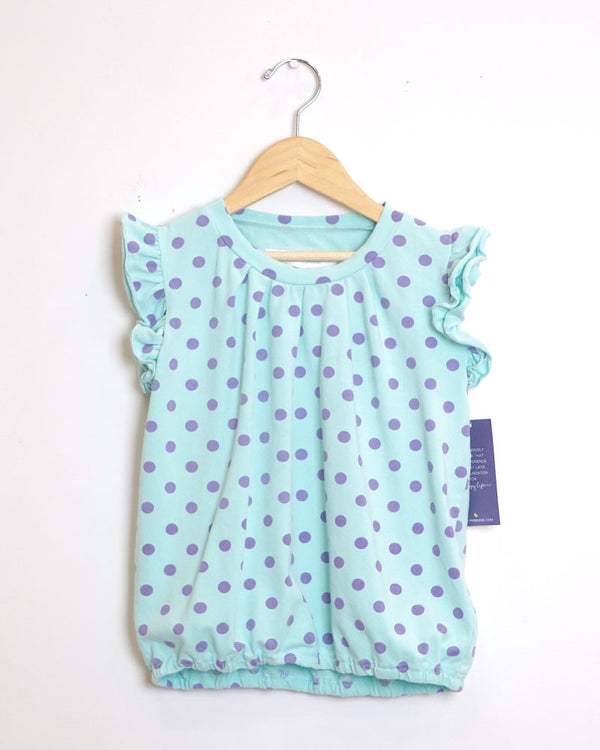 Me Too Tee - Cotton Candy Blue - Size 6