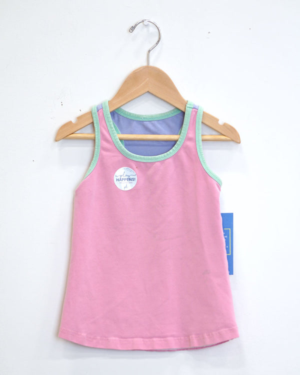 Tides Out Tank - Pink - Size 4