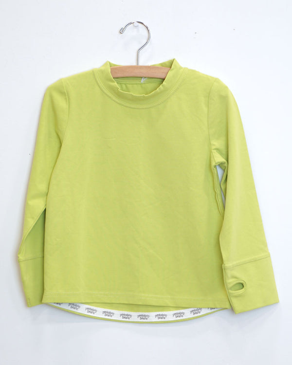 Lazy Dayz Tee - Electric Lime - Size 3
