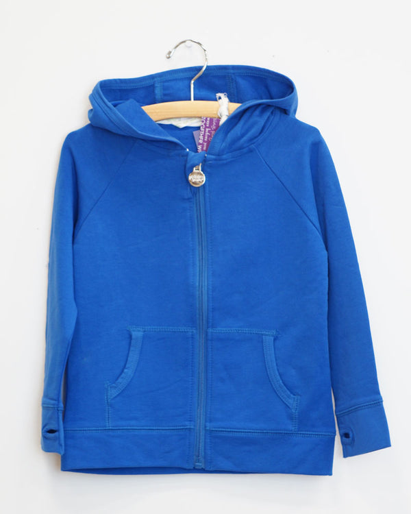 On The Go Hoodie - Royal Blue - Size 4