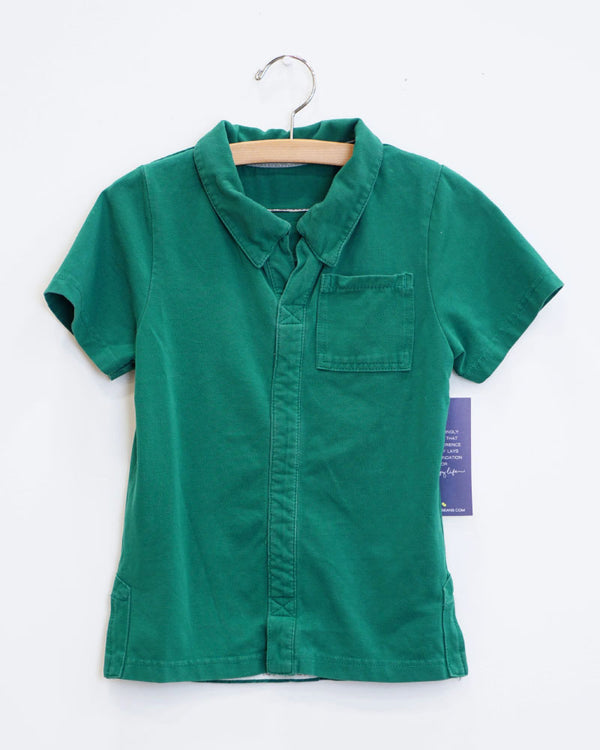 Everyday Tee - Emerald Green - Size 5