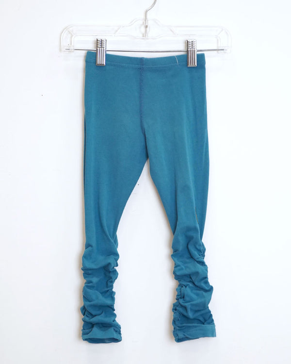 Long Embrace Leggings - Blue Teal - Size 3