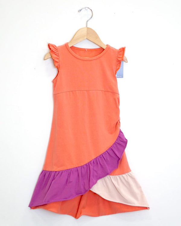 Very Fairy Dress - Sunset Coral - Size 4