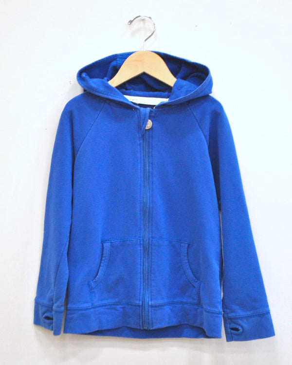 On The Go Hoodie - Blue - Size 7