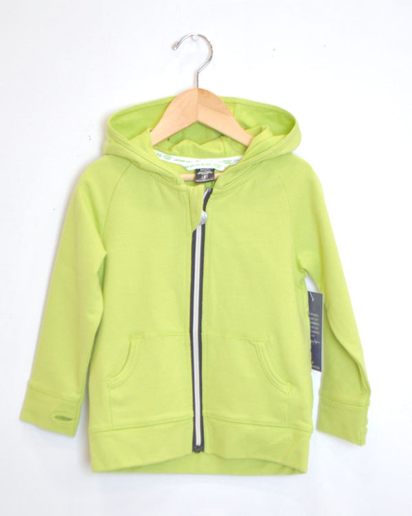 On The Go Hoodie - Lime - Size 3