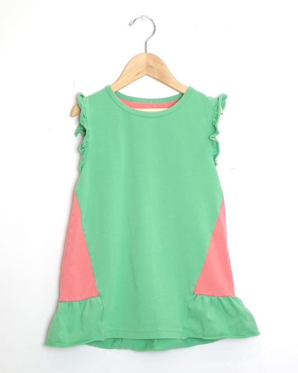 Carnival Tee - Green - Size 7