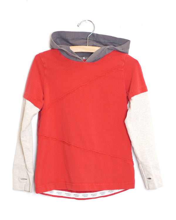 Style Peak Tee - Royal Red - Size 4