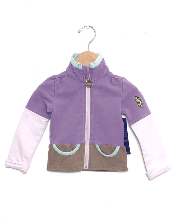 Good Times Zip-Up - Pansy - Size 1