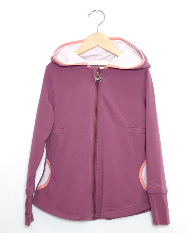 I Heart Play Jacket - Mulberry - Size 7