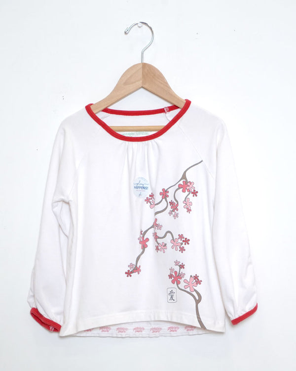 Blossom Top - White - Size 3