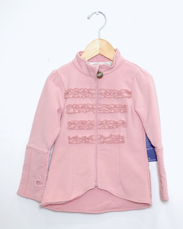 Lap Of Luxury Jacket - Tickle Me Pink - Size 3