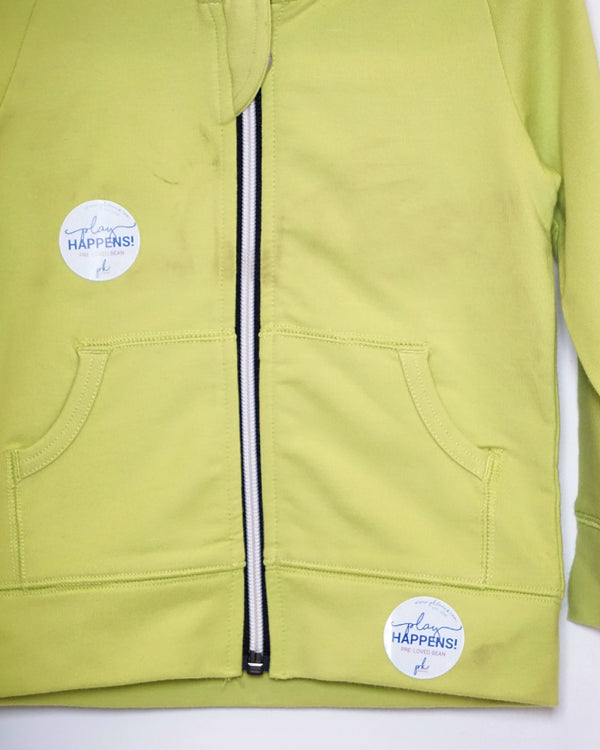 On The Go Hoodie - Lime - Size 2