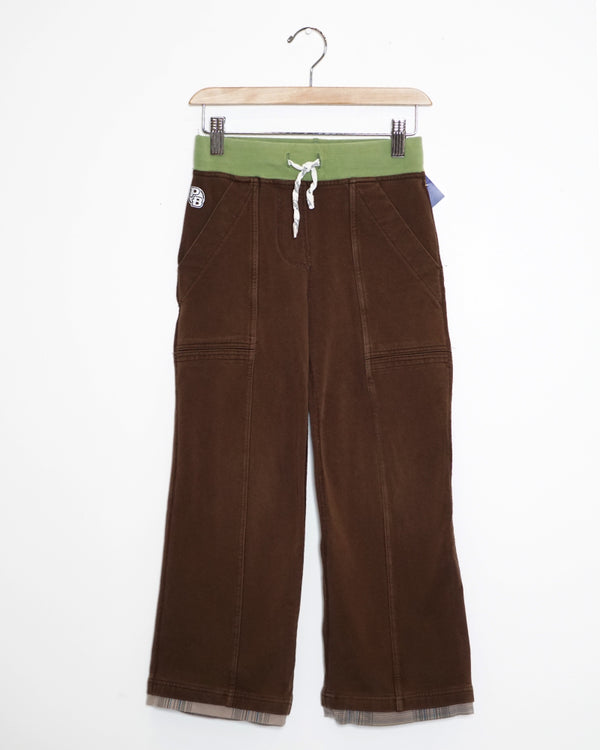 Relative Pants - Bark - Size 6-7Y