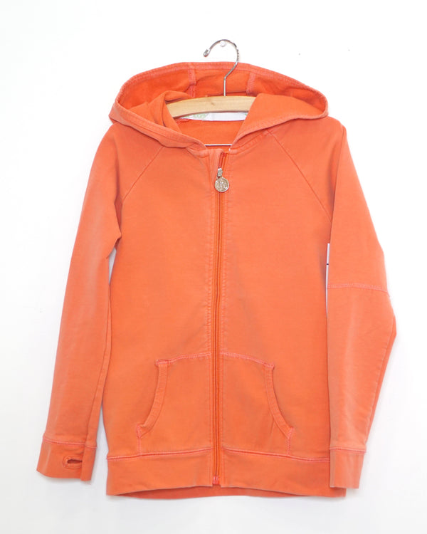 On The Go Hoodie - Tangerine - Size 3
