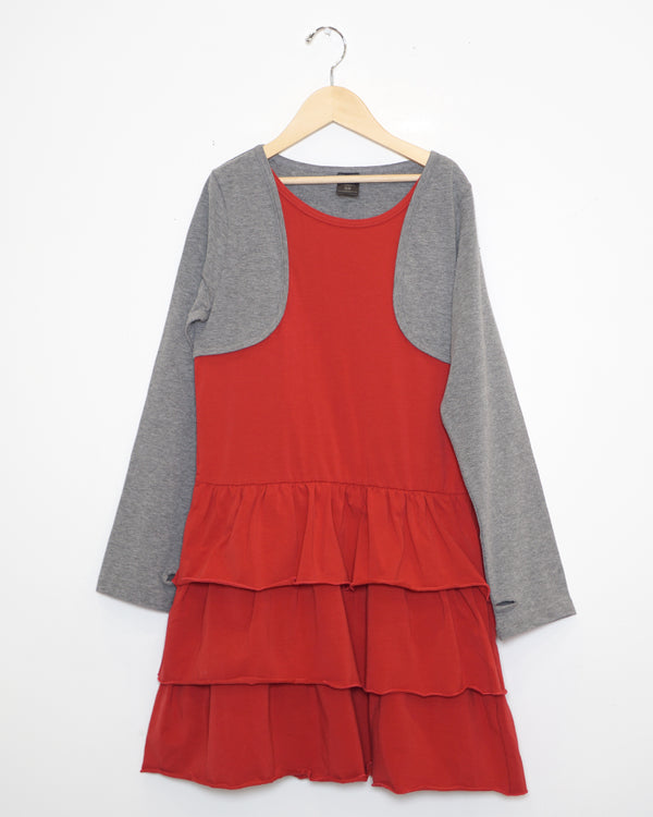 Holiday Gem Dress - Red - Size 10