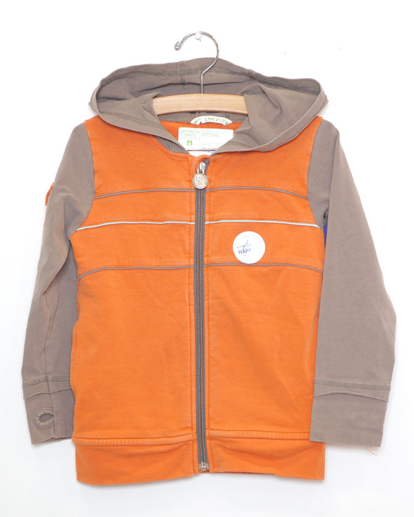 Over and Out Hoodie - Orange - Size 4